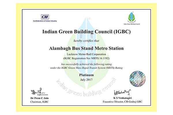LMRC certificates