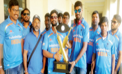 Blind cricketers to become eyes of Lucknow Metro for disability awareness.